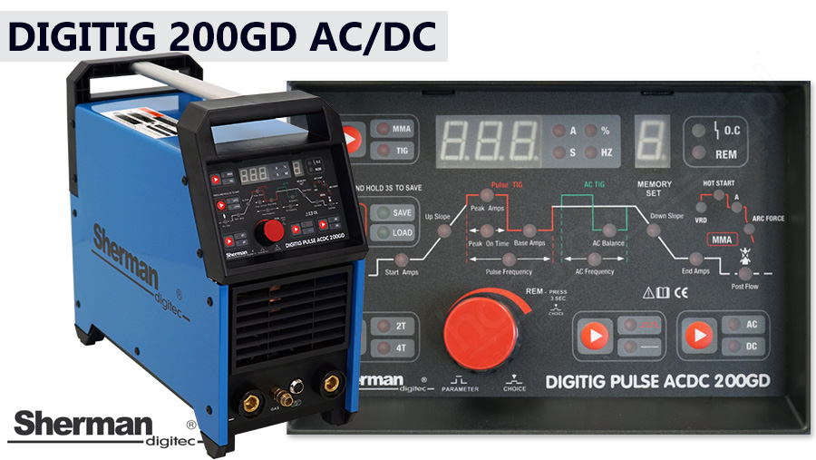 Sherman DIGITIG 200 GD AC/DC